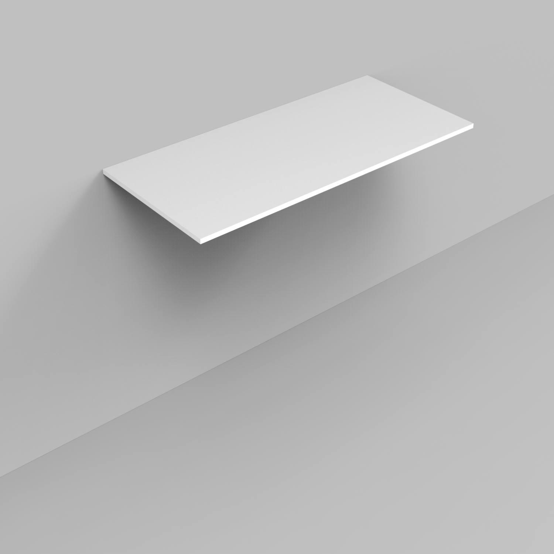 Badkamermeubelset Industrieel BWS Frame Staand 100 Mat Zwart Aluminium (exclusief wastafel/waskom)