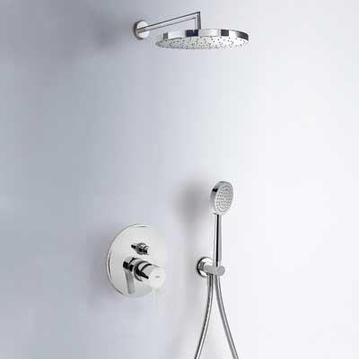 Sanitair-producten 13020 Tres Prima inbouw doucheset chroom 08517501