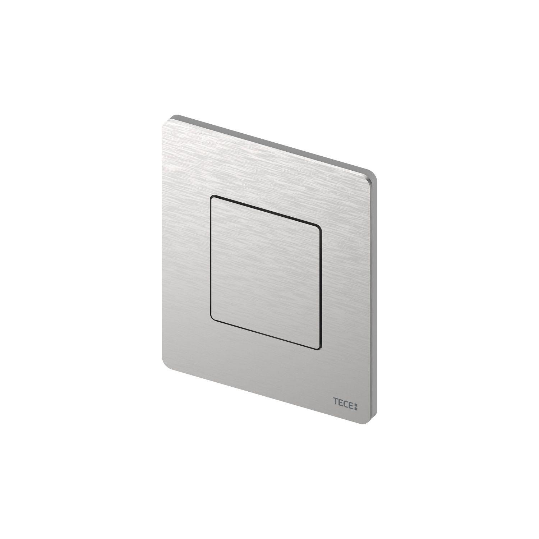 Productafbeelding van Urinoir Bedieningsplaat TECE Solid 10,4x12,4 cm Mat Wit inclusief Cartouche
