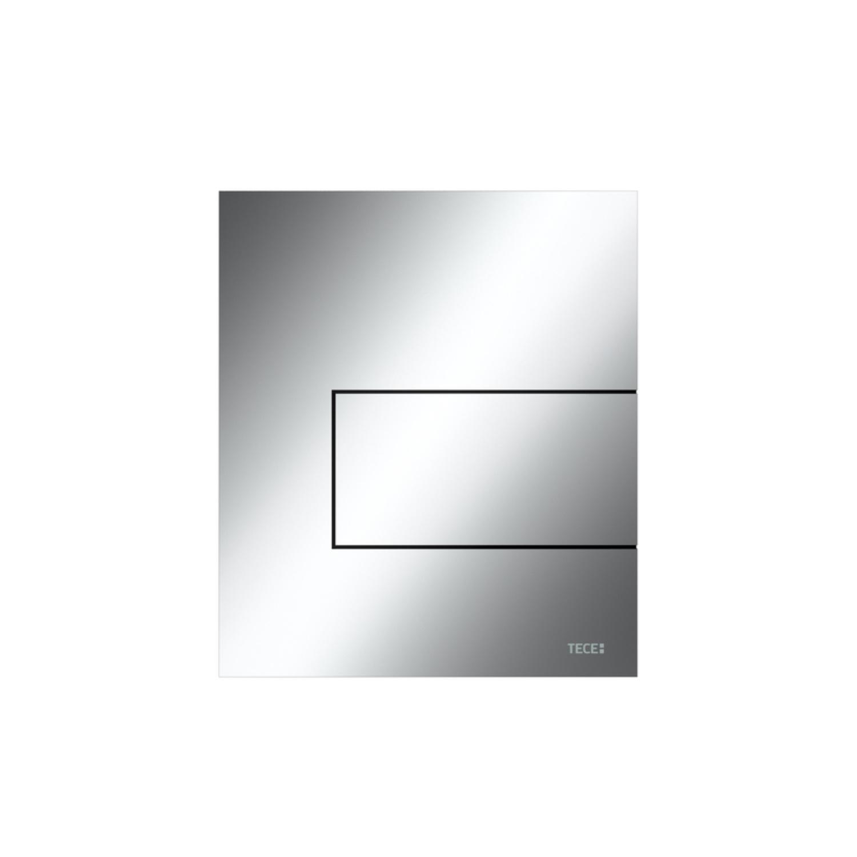 Urinoir Bedieningsplaat TECE Square Metaal Glanzend Chroom 12,4x14,4 cm