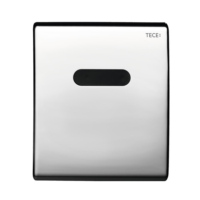 Productafbeelding van Urinoir Elektronische Bedieningsplaat TECE Planus 10x12 cm Glanzend Chroom (werkt o.b.v. batterij)
