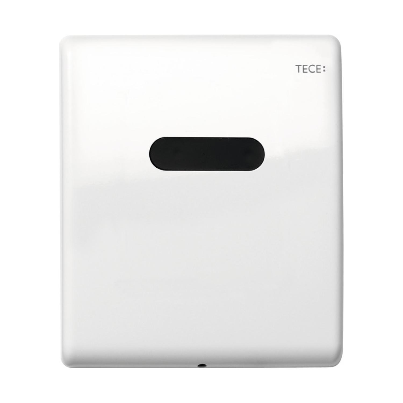 Urinoir Elektronische Bedieningsplaat TECE Planus 10x12 cm Glanzend Wit (werkt o.b.v. batterij) kopen - Tegel Depot sanitair met korting