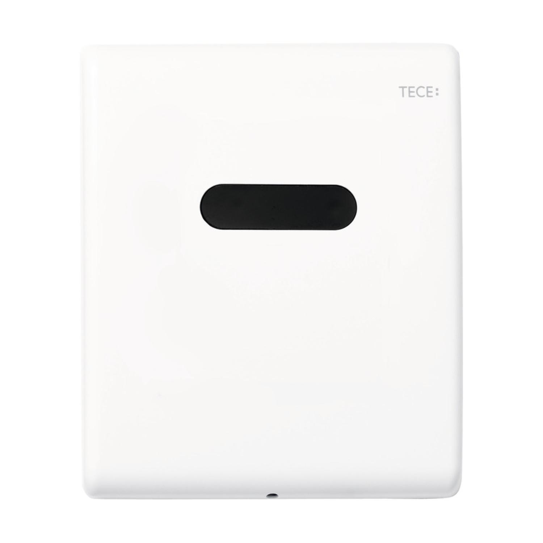 Urinoir Elektronische Bedieningsplaat TECE Planus 10x12 cm Mat Wit (werkt o.b.v. batterij) kopen - Tegel Depot sanitair met korting