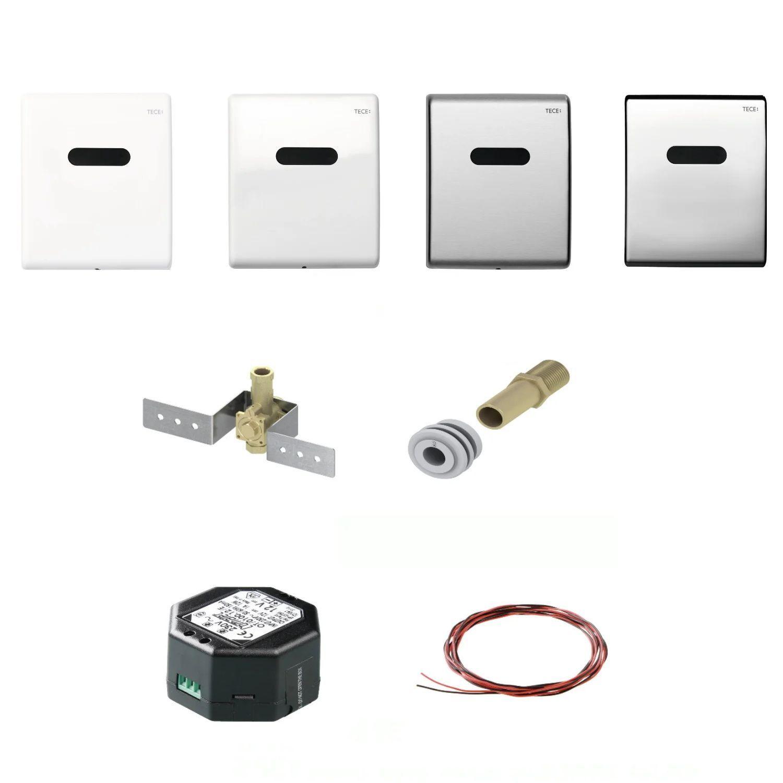 Productafbeelding van Urinoir Inbouw Set TECE Elektronisch tbv Urinoir Met Achteringang