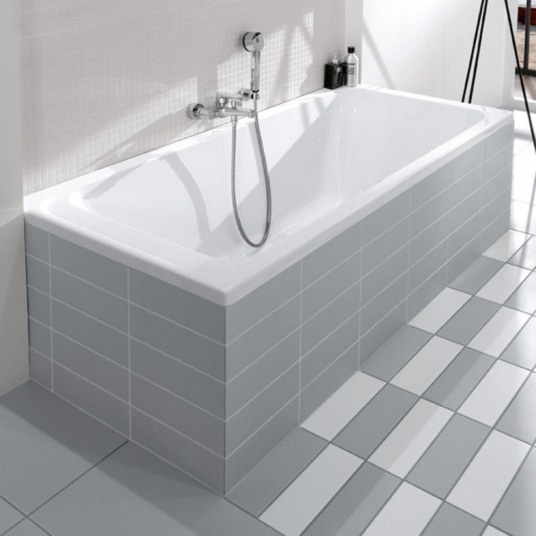 ligbad villeroy boch omnia architectura rechthoek duo 170x80 cm wit. Black Bedroom Furniture Sets. Home Design Ideas