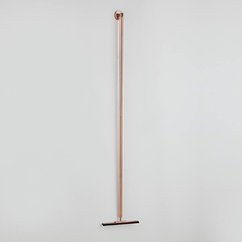 Vloerwisser Boss & Wessing 125 cm Geborsteld Koper