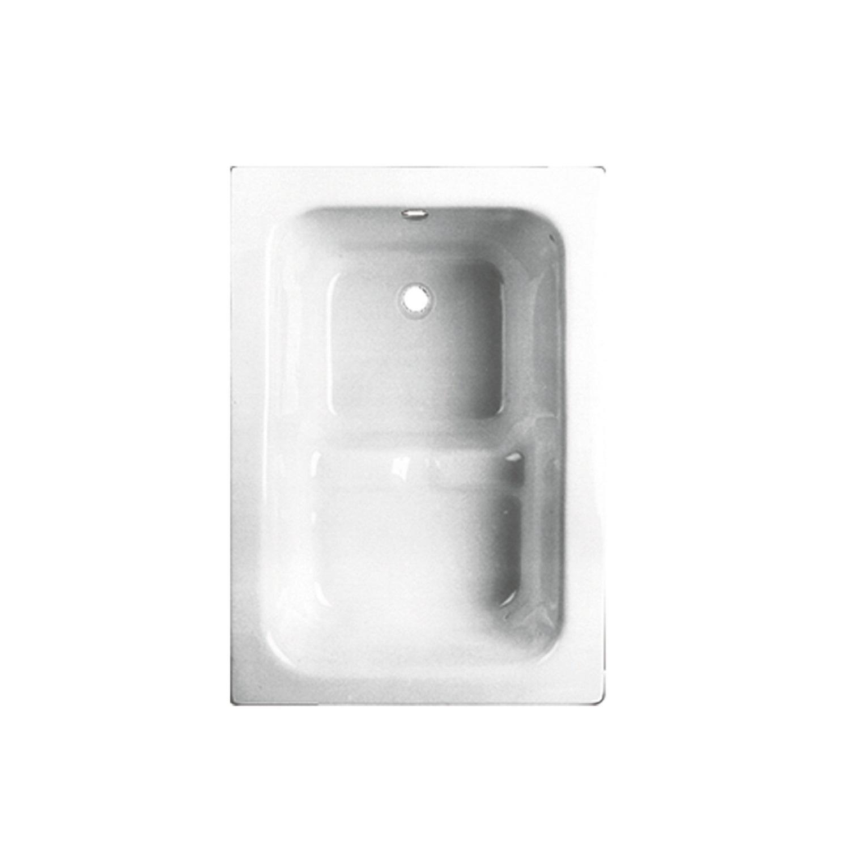 VM GO Pisa Zitbad 100x70cm Acryl 21-42cm Diep Inclusief Potenstel voordeel