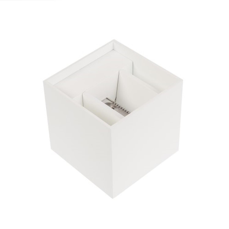 Wandlamp met LED-Verlichting NJOY Cube Wit 6 Watt
