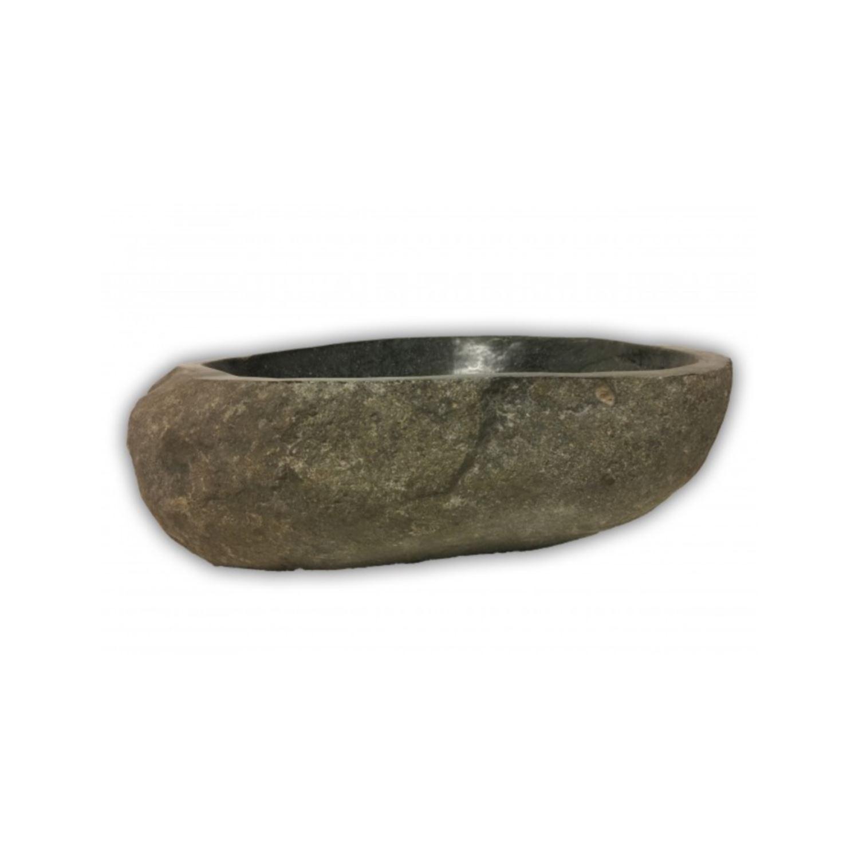 Waskom Riverstone 35 tot 45 cm Antraciet Grijs