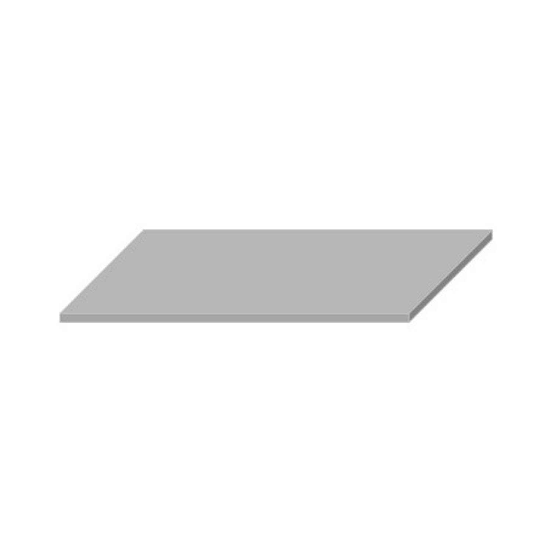Wastafelblad van Boss & Wessing kopen? Wastafelblad Boss & Wessing 45.5x120 cm Solid Surface Wit voor de Wastafels met korting