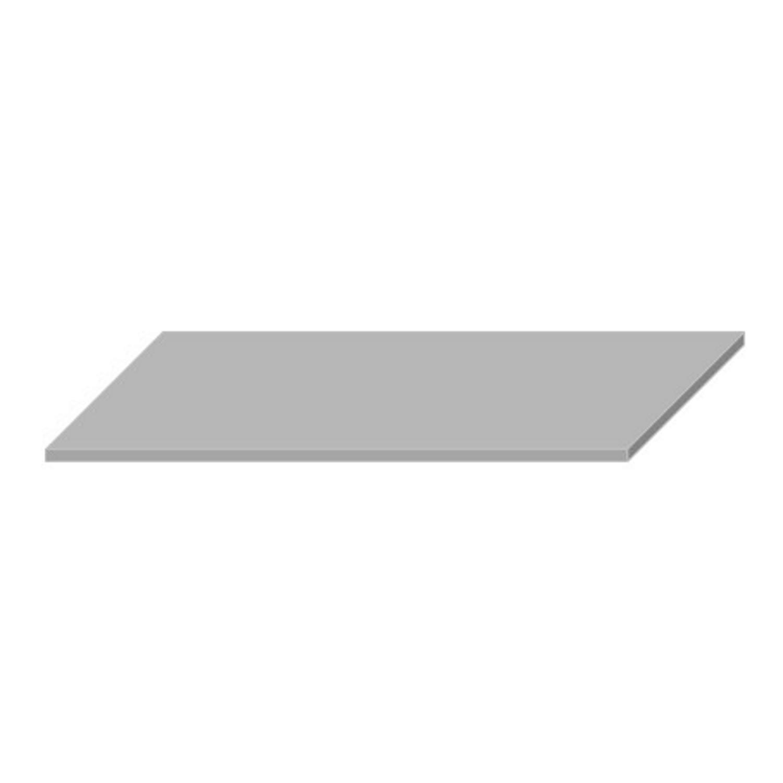 Wastafelblad Boss & Wessing 45.5x154 cm Solid Surface Wit voordeel