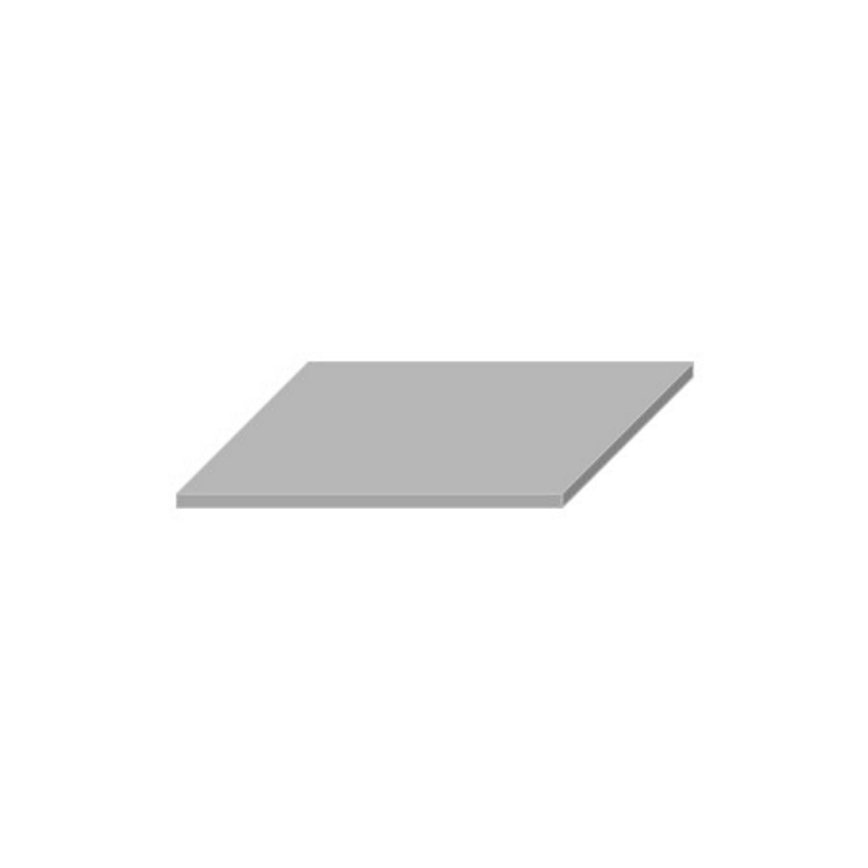 Wastafelblad van Boss & Wessing kopen? Wastafelblad Boss & Wessing 45.5x57 cm Solid Surface Wit voor de Wastafels met korting