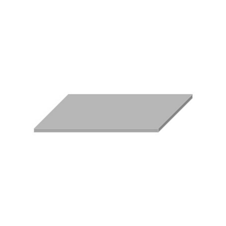 Wastafelblad van Boss & Wessing kopen? Wastafelblad Boss & Wessing 45.5x77 cm Solid Surface Wit voor de Wastafels met korting