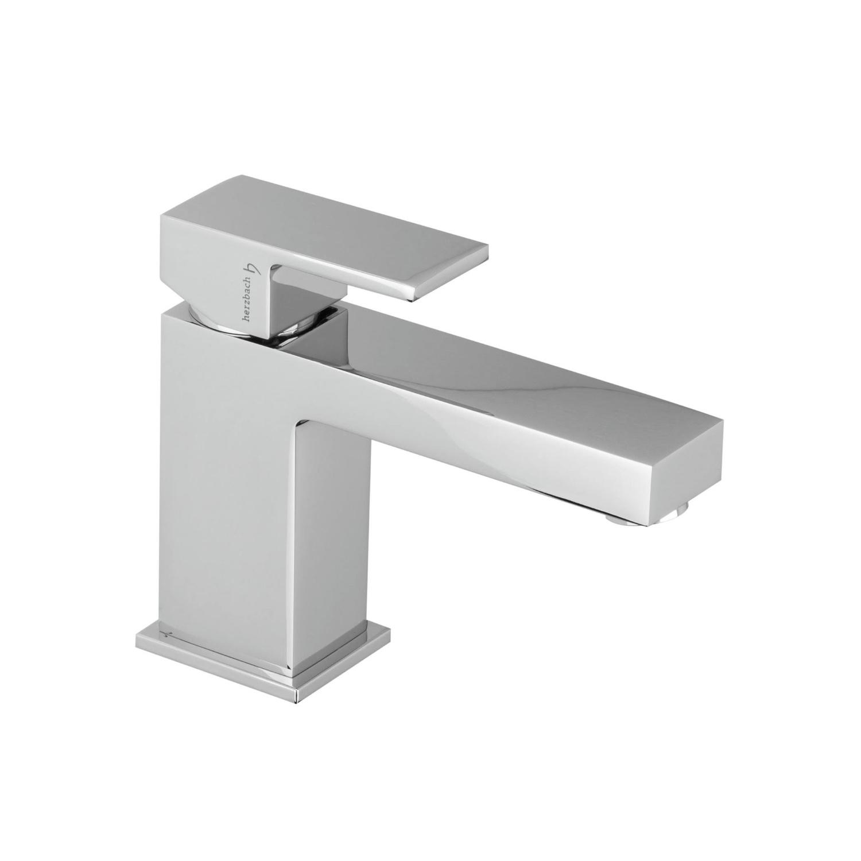 Wastafelkraan Herzbach Neo Castell ECO Vierkant Design 5/4'' Clickwaste Chroom kopen met korting doe je hier