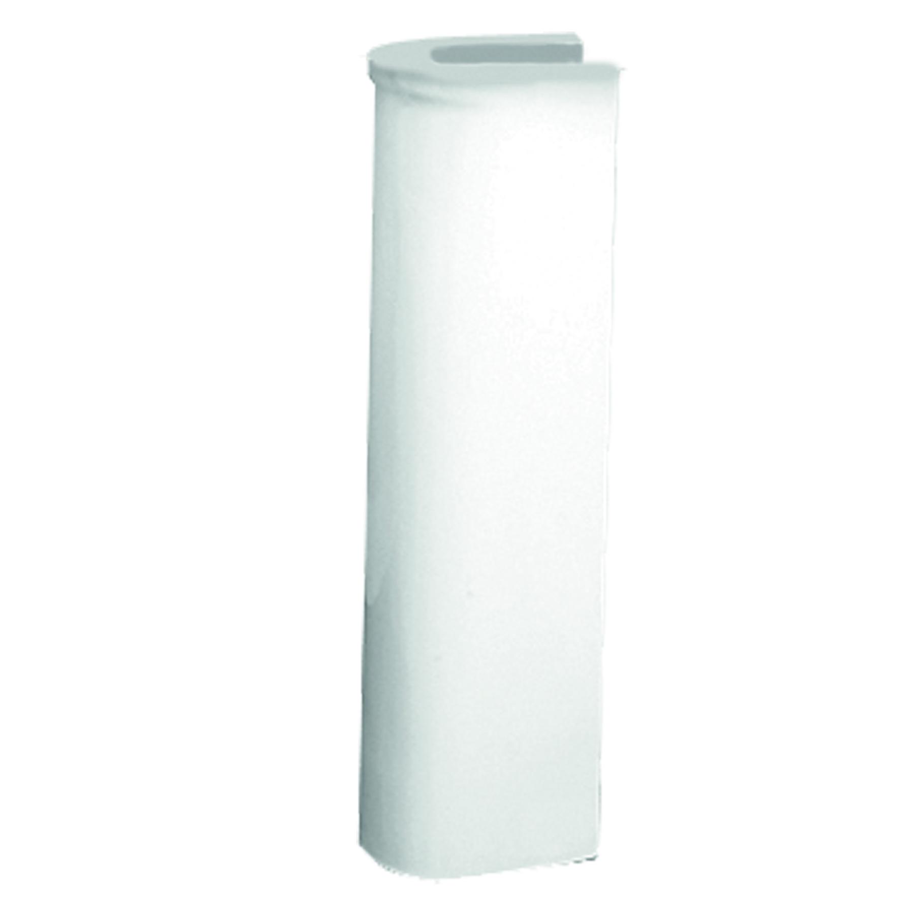 Wastafelzuil VM Isifix Atlas Porselein 70cm Hoog Wit