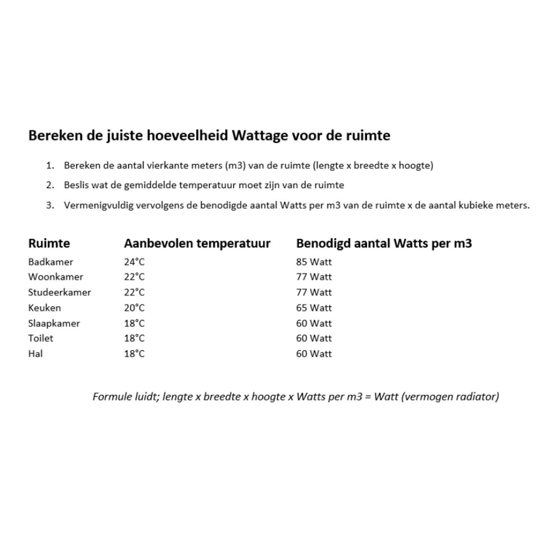 Handdoekradiator IP Cupertino Graphite Spiegel In 6 Verschillende ...