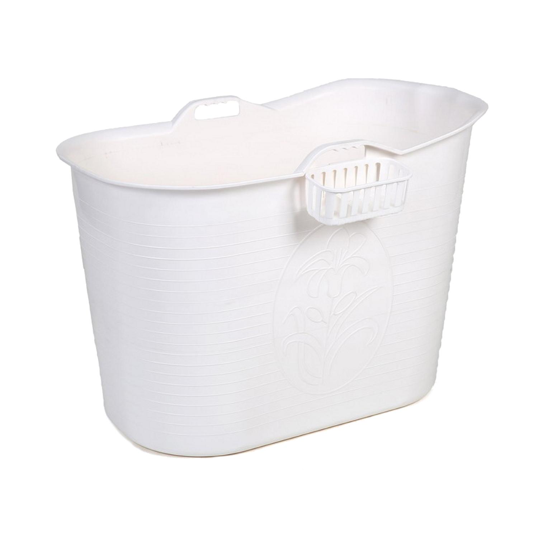 Zitbad Bath Bucket Voor Volwassenen Wit 92x51x63cm Voor 200 Liter