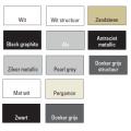 Designradiator Boss & Wessing Franto Sinistro 121 x 60 cm 690 Watt Buis Links Donkergrijs