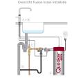 Quooker Fusion Square Chroom met Combi Boiler