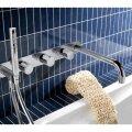 Badthermostaat Hotbath Buddy Inbouw 2-stop met Uitloop Chroom