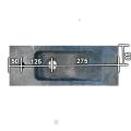 FonteinPack Slim hardsteen Rechts 45X17X10CM (Keuze uit 18 kranen)