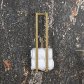 Handdoekenrek Klein BWS Industrieel 60x12.5x12.5 cm Goud