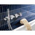 Thermostaat Badkraan Hotbath Buddy Inbouw 2-stop Zonder Uitloop Chroom