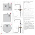 Quooker Reservoir Combi 2.2-E Boiler EQR (alleen de boiler)