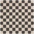 Mozaïektegel The Mosaic Factory London Vierkant 23x23 mm Dambord Mix