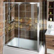 Zijwand Sapho Deep 75x150 cm 6 mm Helder Glas tbv Nisdeur en douchebak Deep