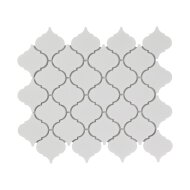 Mozaïek Paris 24.5x29.3 cm Geglazuurd Porselein, Lantaarn En Mat Wit (Prijs Per 0.72 m2)