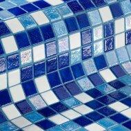Mozaiek Ezarri Iris Oasis 2,5x2,5 cm (Doosinhoud 2 m²)