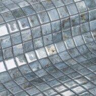 Mozaiek Ezarri Gemma Hematite 2,5x2,5 cm (Doosinhoud 2 m²)