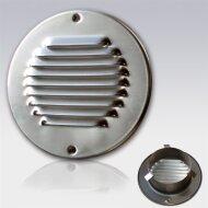 Schoepen Ventilatierooster met Klemveren Weha Rond 15 cm RVS