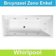 Ligbad Bruynzeel Zeno 180 x 80 cm Balboa Whirlpool Enkel systeem