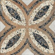 Terrazzo tegels Casale Firenze cotto 25x25 (Doosinhoud 0,25 M²)