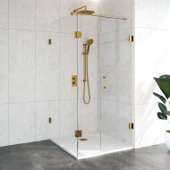 Douchecabine Compleet Just Creating 3-Delig 100x120 cm Goud