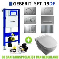Geberit UP320 Toiletset set19 V&B O.novo DirectFlush met Sigma drukplaat