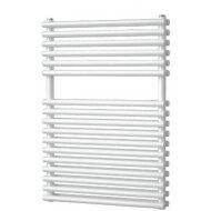 Designradiator Plieger Florian Dubbel 505 Watt Middenaansluiting 72,2x50 cm Wit