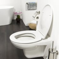 Toiletzitting Tiger Ventura Softclose Duroplast Wit