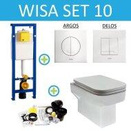 Wisa XS set10 Carre (Met Argos of Delos drukplaat)