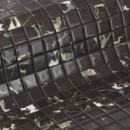 Mozaiek Ezarri Zen Black Marble 2,5x2,5 cm (Doosinhoud 2 m²)