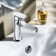 Wastafelmengkraan Hotbath Friendo 1-hendel Recht 14.5 cm Chroom