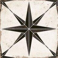Vloertegel Orion Zwart Ster 22,5 x 22,5 cm (doosinhoud: 1 m2)