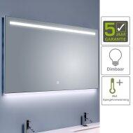 BWS Ambi LED Spiegel Dimbaar One Condensvrij 160x60 cm