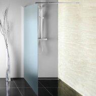 Inloopdouche Sapho Walk-In 80x190 cm met Muurprofiel Helder Glas