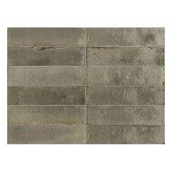 Wandtegel Piet Boon Glaze Tile Greige 6x24 cm Grijs (Doosinhoud: 0,52 m²)