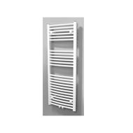 Radiator Sanicare Middenaansluiting Gebogen 672 Watt Inclusief Ophanging 45x120 cm Wit