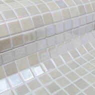 Mozaiek Ezarri Metal Nickel 2,5x2,5 cm (Doosinhoud 2 m²)