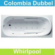 Ligbad Riho Colombia 160 x 75 cm Whirlpool Dubbel systeem